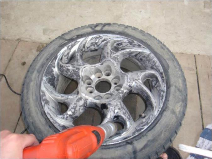 Тюнинг колесных дисков своими руками 40